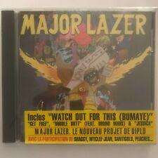 Major Lazer free the universe cd 14 titres neuf sous blister