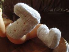 chaussette naissance fait main neuve