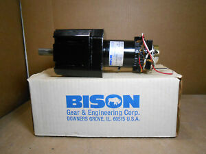 BISON 011-650-9130 D.C. GEAR MOTOR