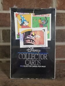 Disney Collector Cards Box *Factory Sealed* Impel 1991