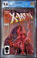 Uncanny X-Men #205 CGC 9.6 Lady Deathsrike Origin - Barry Smith Art WH pgs. 1986