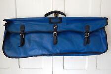 Vintage Dunlop Squash Racket Racquet Kit Bag Blue Retro