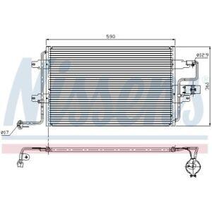 1 Condenseur, climatisation NISSENS 94310 convient à AUDI SEAT SKODA VW
