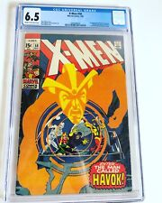 X-Men 58  CGC 6.5  1st Appearance of Havok NEAL ADAMS UNPRESSED 1969