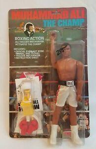 1976 Muhammad Ali, The Champ Action Figure Vintage Mego Boxing Mike Tyson SEALED