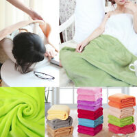 Super Soft Warm Micro Plush Fleece Blanket Throw Rug Sofa Bedding Home Hot Sale