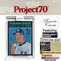 2021 Topps Project 70 - 1971 Mariano Rivera Card #39 by Morning Breath - Yankees