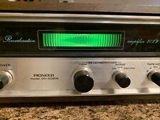 Pioneer Sr-202W Vintage Reverberation Amplifier Stereo -
