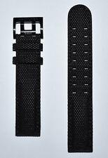 Original Hamilton Khaki Field Black Textile Band Strap for H71626735, H70695735
