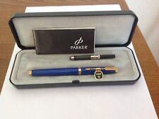 Parker75 Lapis Lazuli  Fountain pen New Old Stock
