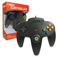 Nintendo 64 CONTROLLER BLACK  N64 *OLD SKOOL* New In Box!!