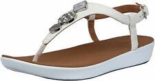 Fitflop Lainey Circle Stone Womens Leather Sandals