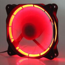 5pcs Eclipse Red LED 12V 12cm 120mm 120x120x25mm PC CPU Case Cooling Cooler Fan