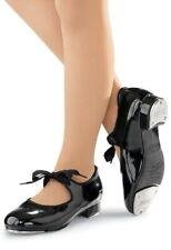 Tap shoes black patent children's sized  1.5,  2.5 3, 3.5, 4, 4.5, 5 5.5  6.