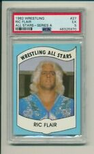 1982 Wrestling All Stars-Series A Ric Flair #27 PSA 5 ROOKIE