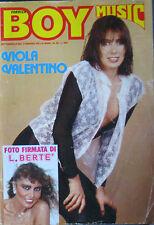 BOY MUSIC 49 1979 Viola Valentino Matia Bazar Loredana Bertè Fleetwood Mac Gros