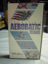 The World's Aerobatic Teams Aviation Video Mag. VHS Volume 2 No. 1 McGraw-Hill