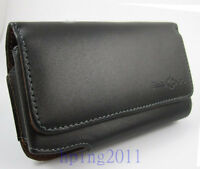 New genuine Leather Case bag For Samsung Galaxy S3 i9300 Hanging waist clip