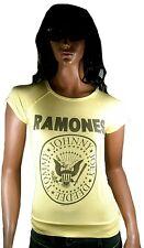 Amplified RAMONES LOGO Hey Ho let's GO YOU ROCK STAR VIP Camiseta T-Shirt S