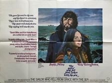 The Sailor Who Fell From Grace With the Sea Original Movie Quad Poster 1976