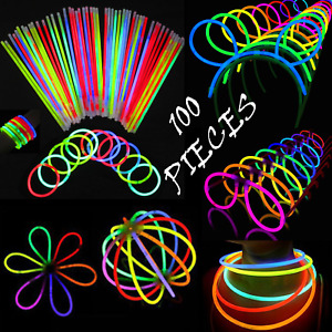 MEGA Glow PARTY PACK Included Ball Connectors Bunny Ears Light Glasses BARGAIN