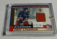 LINDROS / BRENDL - 2002 PACIFIC VANGUARD - DUAL JERSEY -