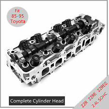OEM Complete Cylinder Head 22RE 22R 85-95 Toyota 2.4L Pickup 4Runner Speed