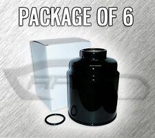 FUEL FILTER GF410 FOR 2013+ RAM 2500 3500 6.7L TURBO DIESEL - PACKAGE OF 6