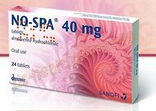 NO-SPA 24 Tablets Against Menstruation Pain, Ulcer, Gastritis. BEST PRICE !