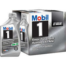 Mobil 1 Advanced Full Synthetic Motor Oil 10W-30 - 6 Pack Of 1 Quart each