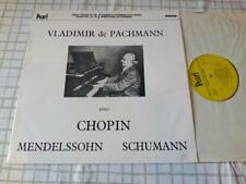 Vladimir de Pachmann plays Virtuoso Piano Pearl Gem 103 UK LP NEAR MINT MONO
