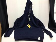 Mens Nautica XL Sportswear Hooded Hoodie Sweatshirt Outerwear Navy