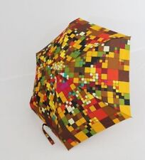 Zest Mini Regenschirm flacher Regenschirm 17 cm bunter Damenschirm 25566-06