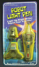 ARCO LIGHT UP ROBOT PEN SEALED IN THE PACKAGE 1980'S!