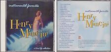 HENRY MANCINI Instrumental Favorites TIME LIFE Collection 1994 CD 24 Hits