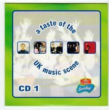 (EZ757) A Taste of the UK Masic Scene CD 1, 5 tracks - 1999 DJ CD