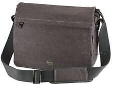 Trp0240 Troop London Classic Canvas Laptop Messenger Bag Black