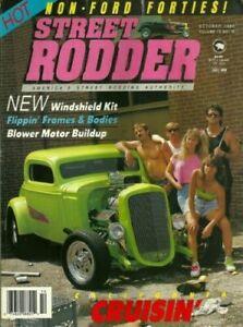 Street Rodder 1990 October Classic Hot Rod Modified Custom Cars