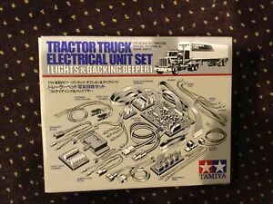 Tamiya 1/14 RC Tractor Truck Electrical Unit Set Unit #56501 Lights & Beeper