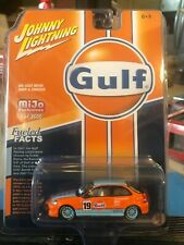 1/64 JOHNNY LIGHTNING 98 HONDA CIVIC BLUE/ORANGE GULF RACING #19 MIJO EXCLUSIVES