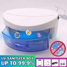 UV Ozone Sterilizer Nail Art Tool for Beauty Salon Light Disinfection Clean Box