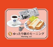 Re-Ment Miniature Retro Cafe on a street corner Set # 1 Morning Set