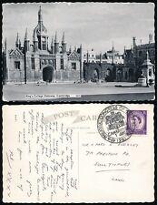 GB PHILATELIC CONGRESS 1967 POSTMARK + PPC CAMBRIDGE