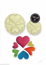 Easy Pops Hearts Cutters Moulds Cake decorating FAST NEXT DAY DESPATCH