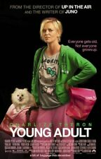 YOUNG ADULT ORIGINAL DOUBLE SIDED FILM MOVIE POSTER 69x102cm Charlize Theron