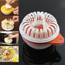 Küche Mikrowelle Apple Kartoffel Gemüse Crisp Chips Slicer Maker Craft Set DIY