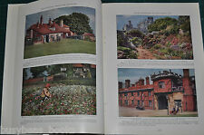 1929 magazine article, The FENS, Fenland, England, info, history, color photos