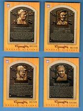 2012 Panini Cooperstown Baseball SP Bronze History Complete Set 1-100 HOF #/599