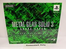 METAL GEAR SOLID 3 LIMITED PREMIUM PACKAGE - PLAYSTATION 2 PS2 - NEW VERY RARE