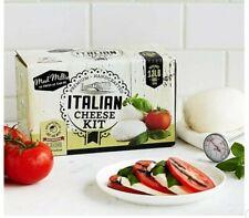 Italian Cheese Kit - Make Your Own Mozzarella, Ricotta, Mascarpone, Burrata